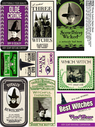Witchy Labels