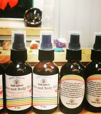 2 oz. Herbal HAIR & BODY oil 🌈❤
