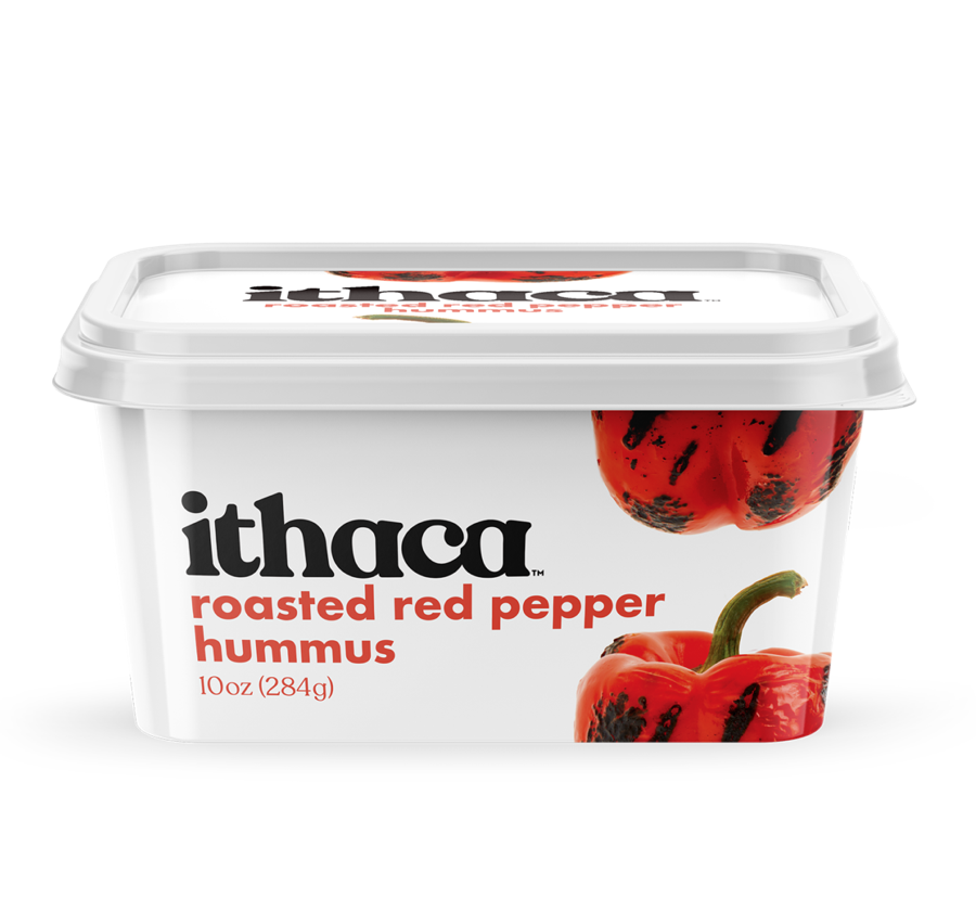 Ithaca Hummus roasted red pepper hummus 10oz 284g