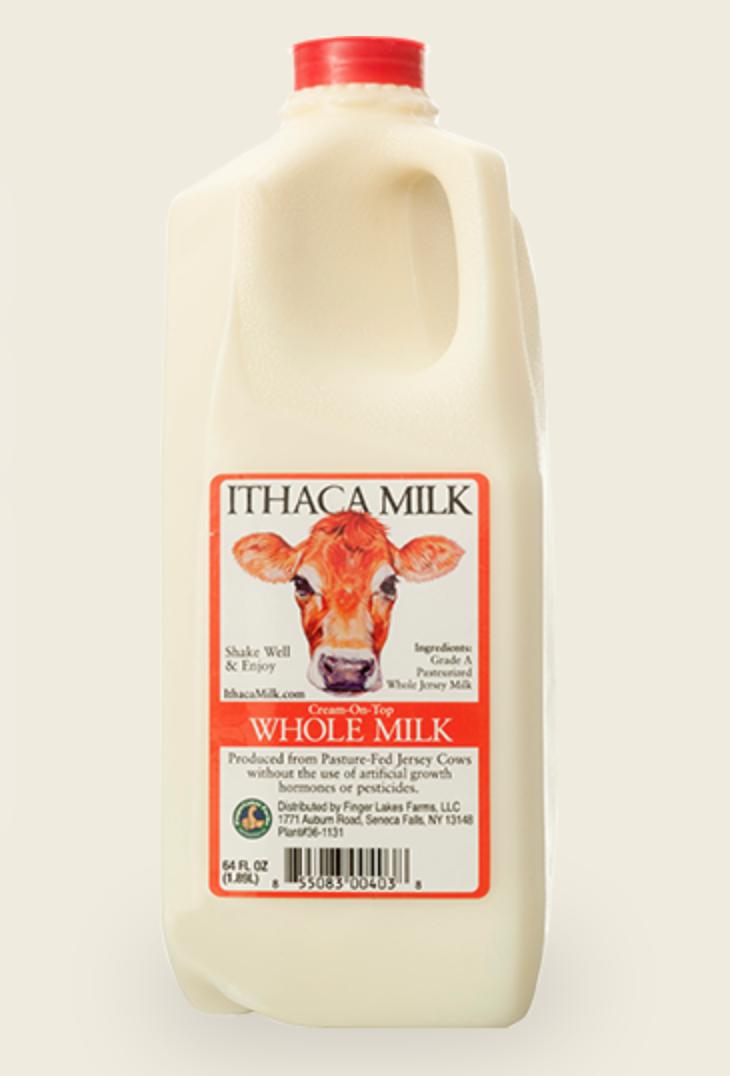 ITHACA MILK Whole Milk Half Gal (64 fl oz)