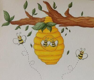 Dancing Bees Dark Honey 16 oz