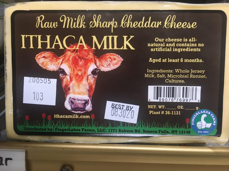 Ithaca Milk Raw Milk Sharp Cheddar 16 oz
