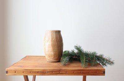 Barley Carved Vase (online only)