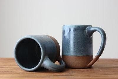 The Farmhouse Mug in Wellhouse Blue