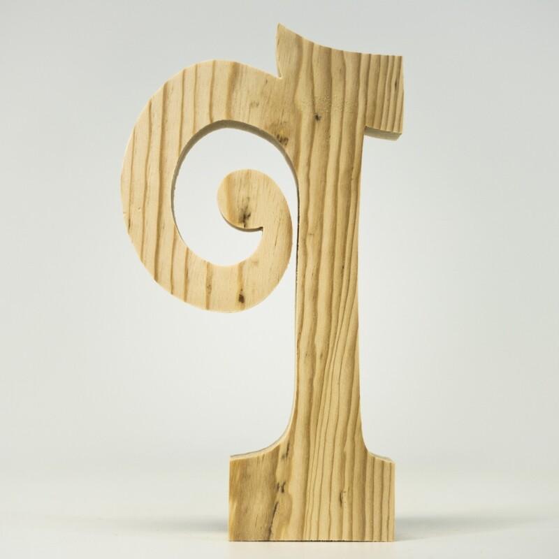 Alphabet - Fancy Lowercase - Q