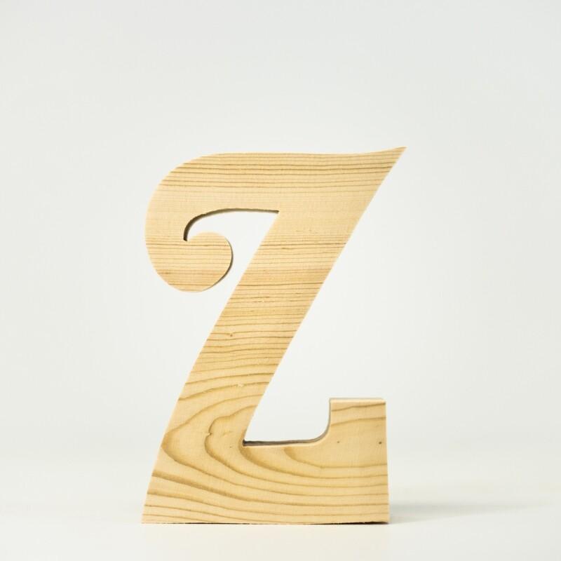 Alphabet - Fancy Lowercase - Z