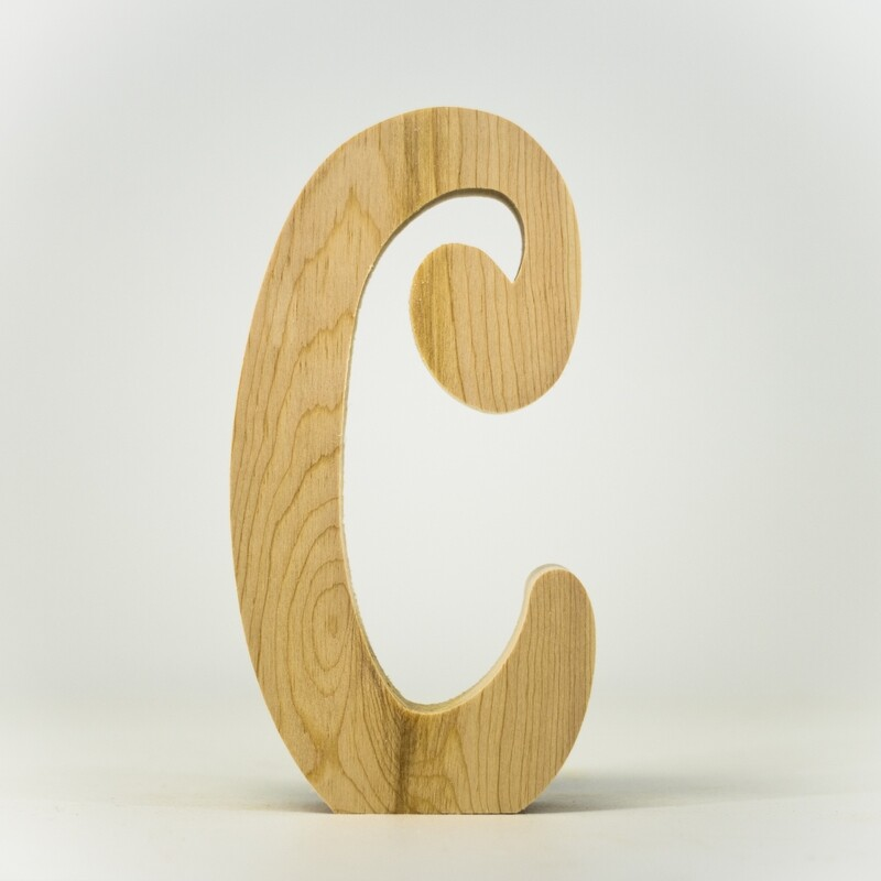 Alphabet - Fancy Uppercase - C