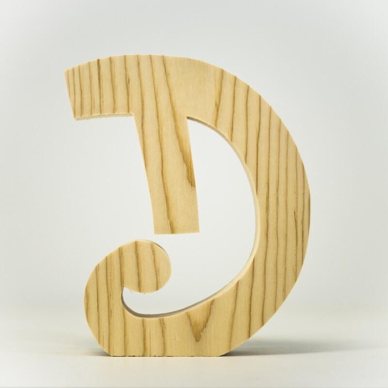 Alphabet - Fancy Uppercase - D