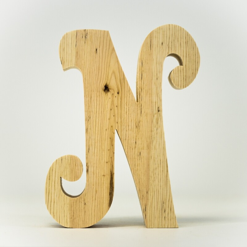 Alphabet - Fancy Uppercase - N