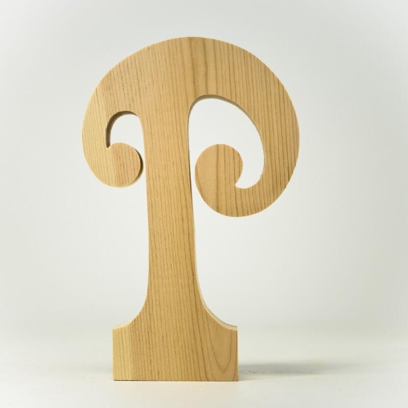 Alphabet - Fancy Uppercase - P