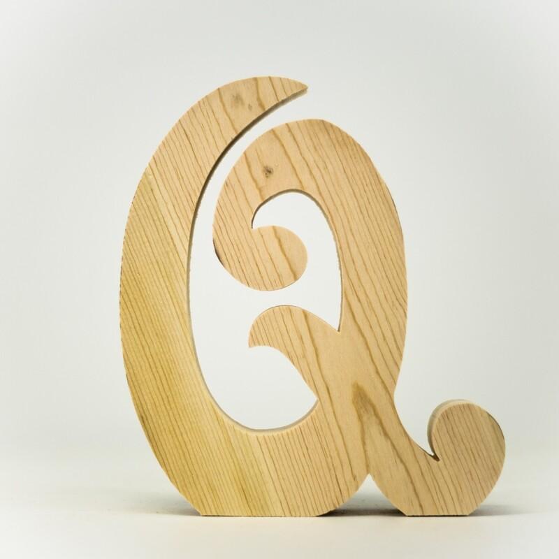 Alphabet - Fancy Uppercase - Q