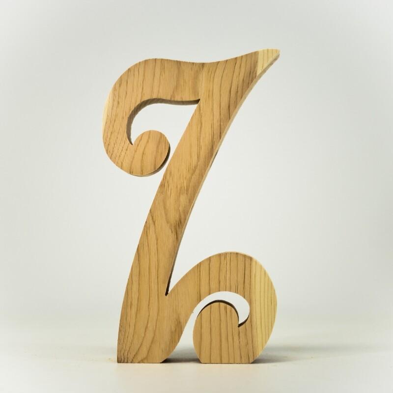 Alphabet - Fancy Uppercase - Z