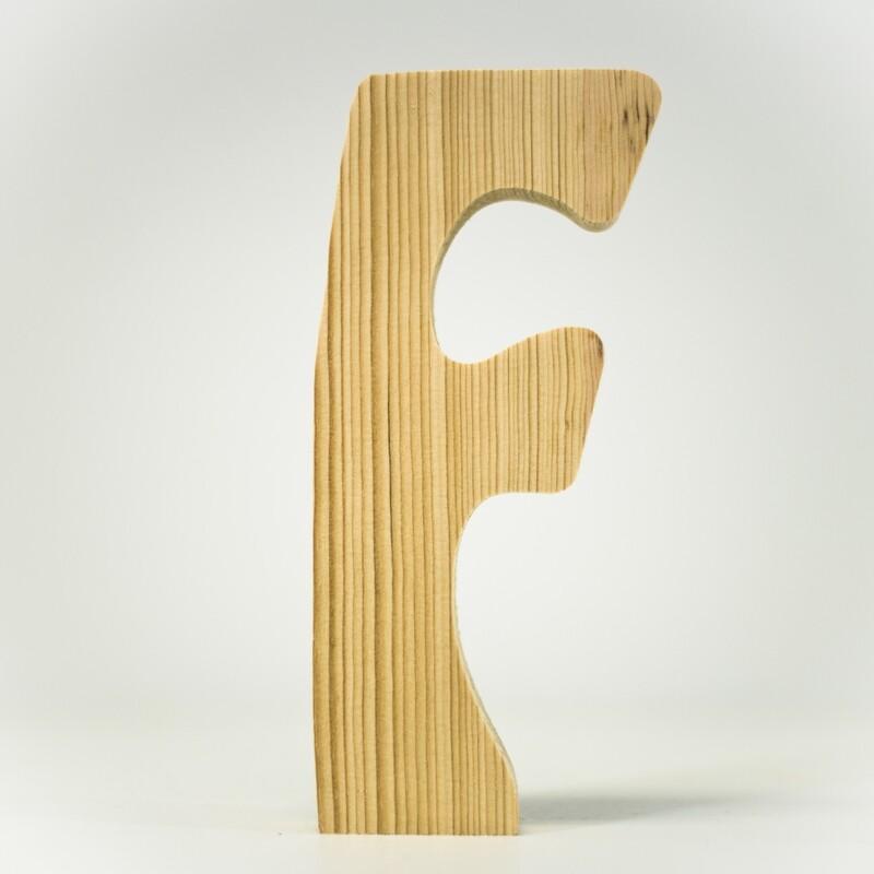 Alphabet - Standard Uppercase - F