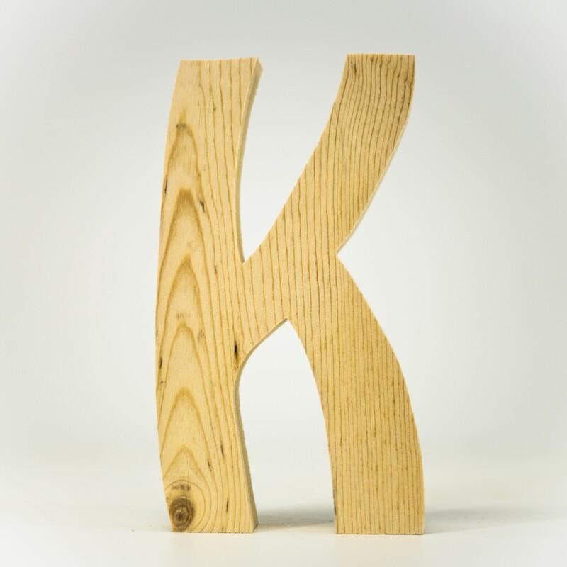 Alphabet - Standard Uppercase - K