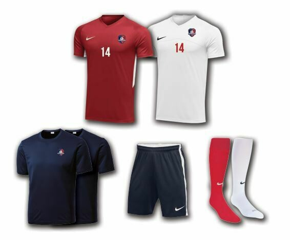 NCFC Uniform Package