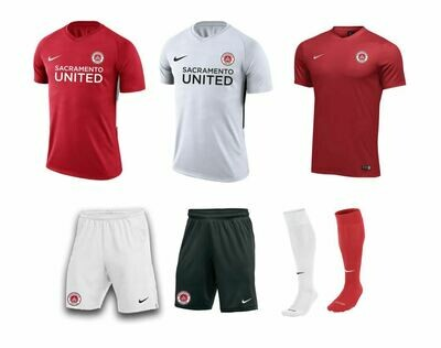 SAC UNITED BOYS Uniform Package