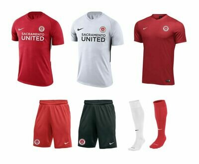 SAC UNITED GIRLS Uniform Package