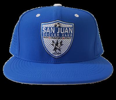 SJ Nike Custom Fitted Royal Hat