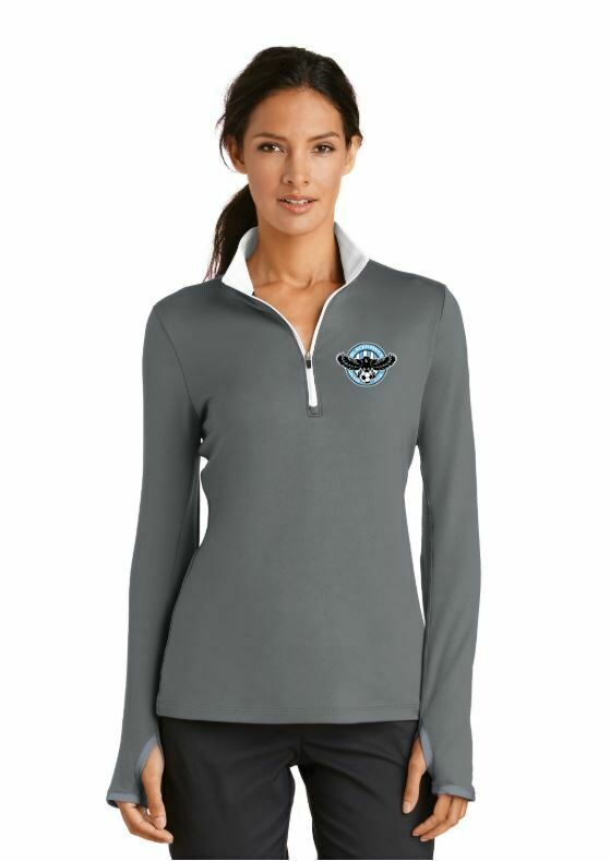 Blackhawks Women's Nike Half Zip (3 Colors)