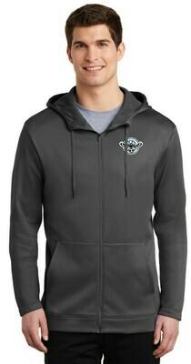 Blackhawks Nike Therma-FIT Full Zip Fleece Hoodie (2 Colors)