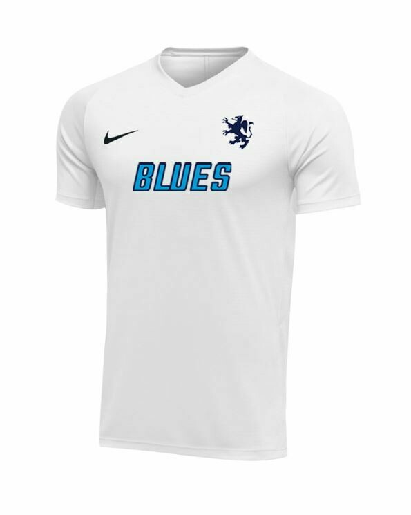 Blues FC Boys White Game Jersey