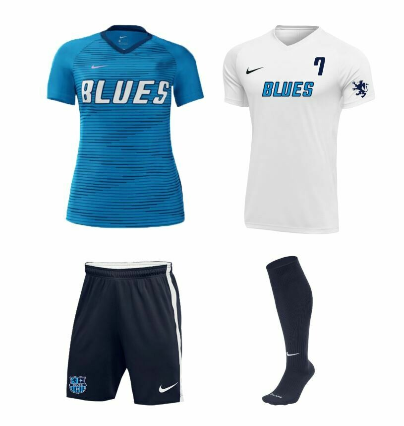 Blues FC Girls Uniform Package