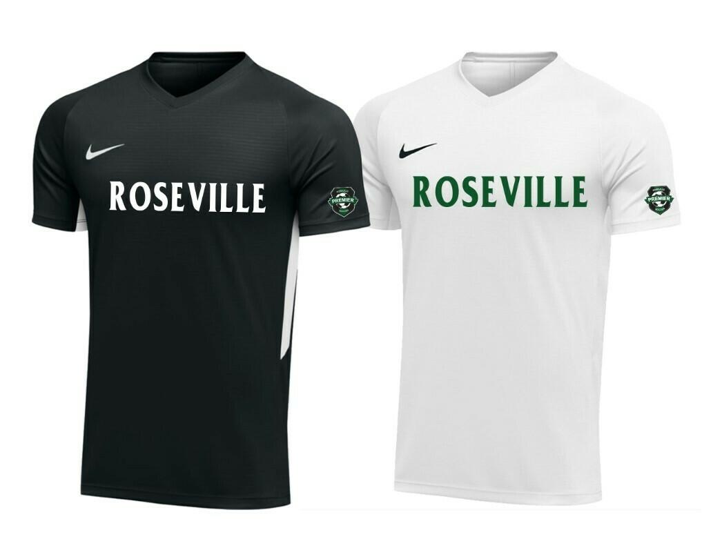 Roseville Premier Game Jerseys