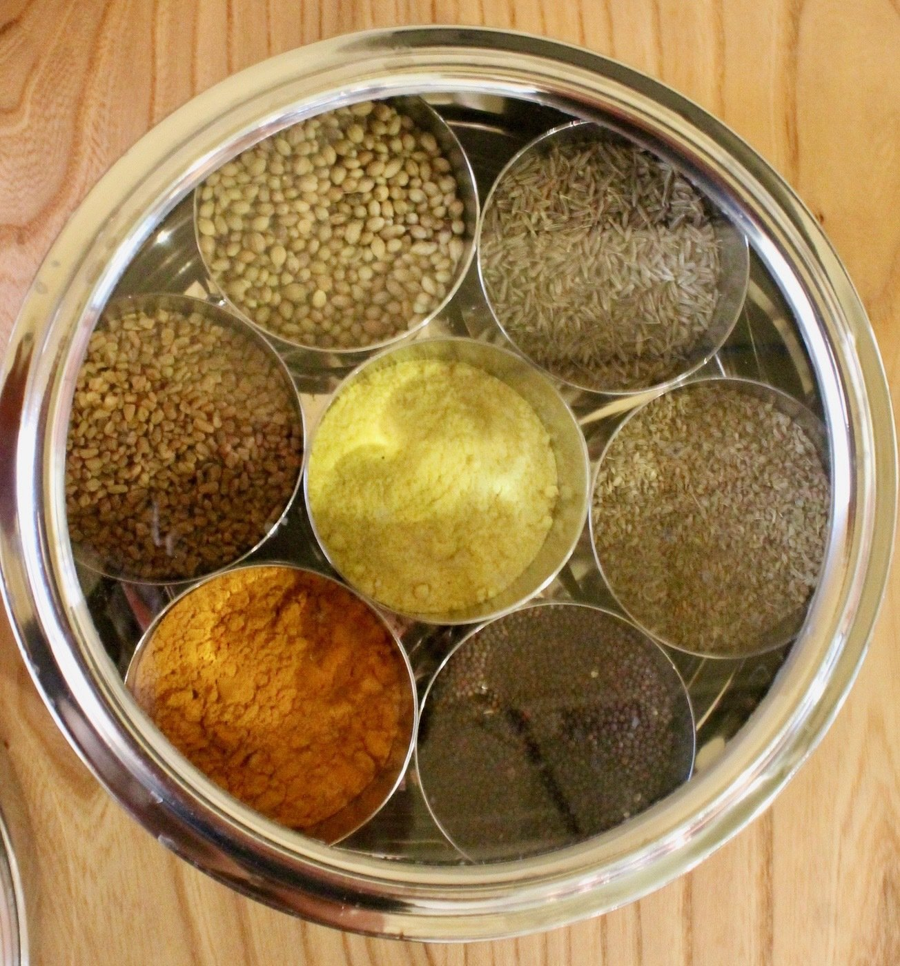 Ayurvedic Cooking Spice Box