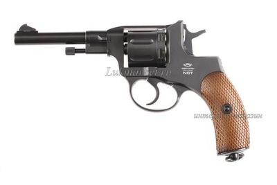 Револьвер Gletcher NGT Black