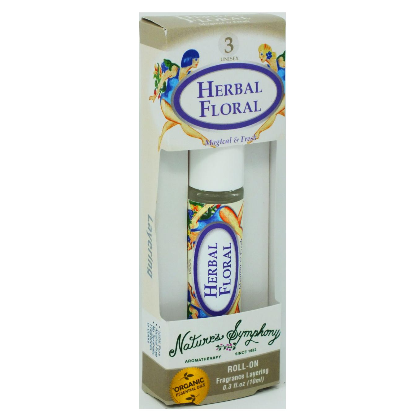 Herbal Blend #3, Roller Ball, Blend Organic/Wildcraft - 10ml
