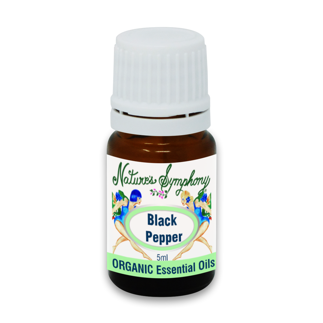 Black Pepper, Organic/Wildcrafted oil - 5ml