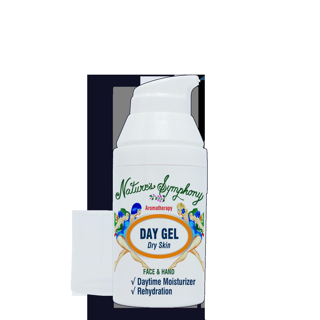 Organic - Day Gel, Dry Skin - 1 fl. oz. (30ml)