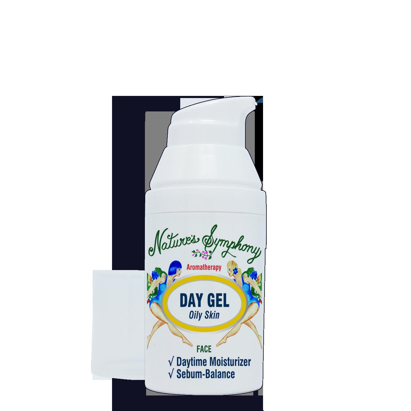 Organic - Day Gel, Oily Skin - 1 fl. oz. (30ml)