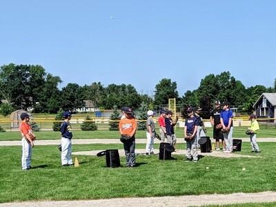 Hit-Pitch-Catch Camp