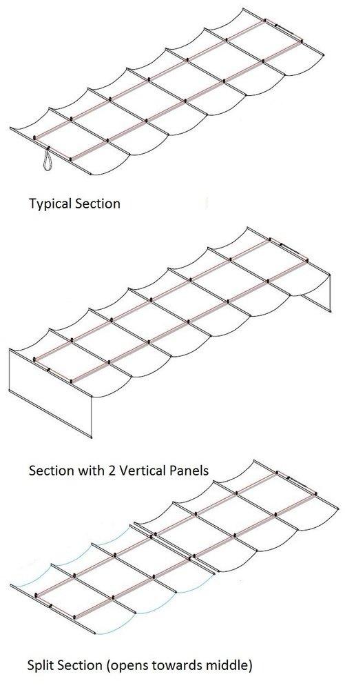 Infinity Canopy Standard Mesh