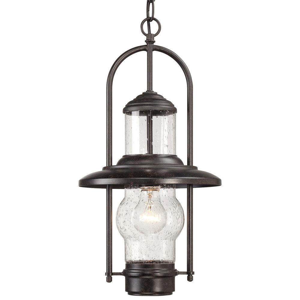 Settlers Way Bronze 1 Light Exterior Hanging