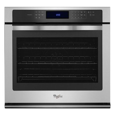 Whirlpool Stainless Steel Single Wall Oven
