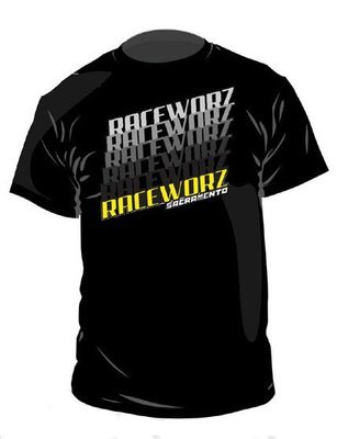 RaceWorz Bride T-Shirt (Black)