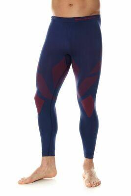 BRUBECK Dry kék/piros aláöltő nadrág ffi