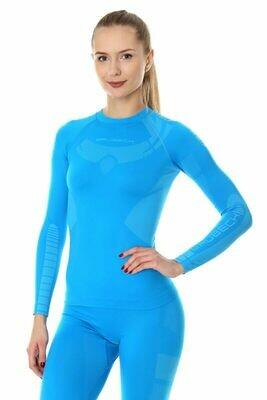 BRUBECK Dry kék aláöltő felső női