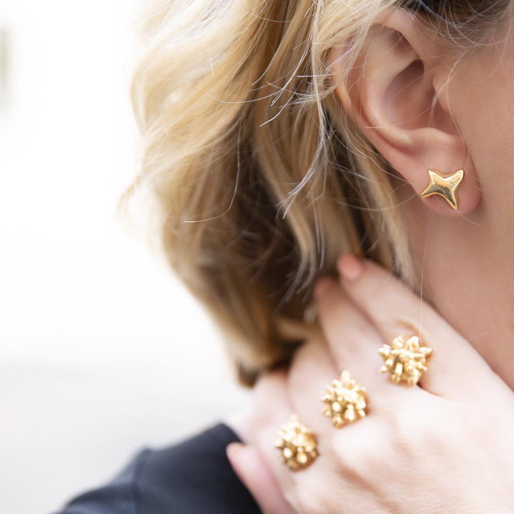 Orecchini Stars - Giulia Barela Jewelry