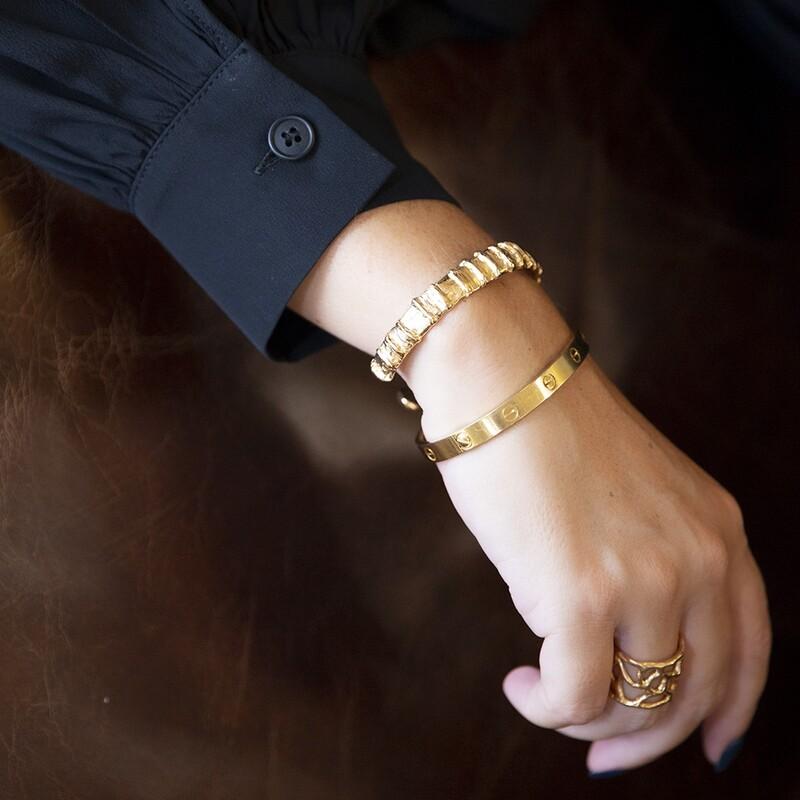 Bracciale Caterpillar - Giulia Barela Jewelry