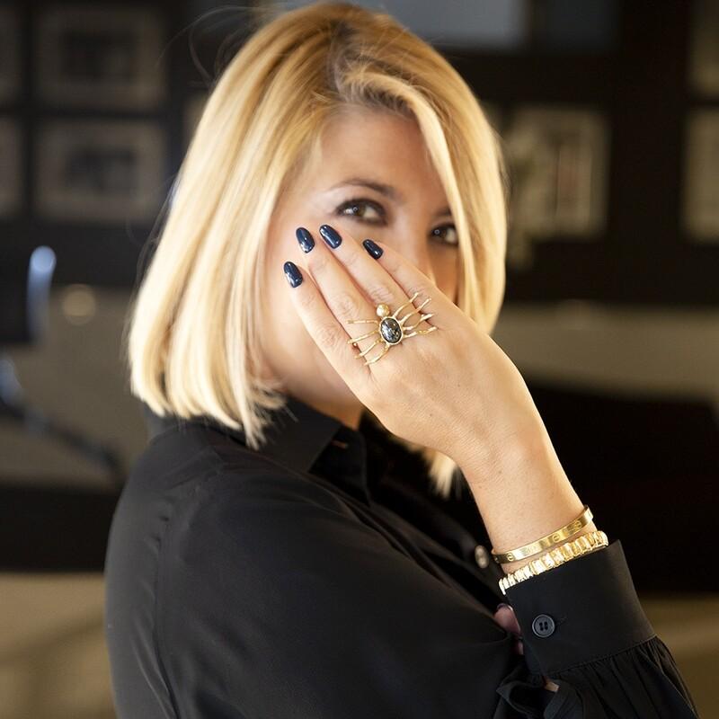 Anello Spider - Giulia Barela Jewelry