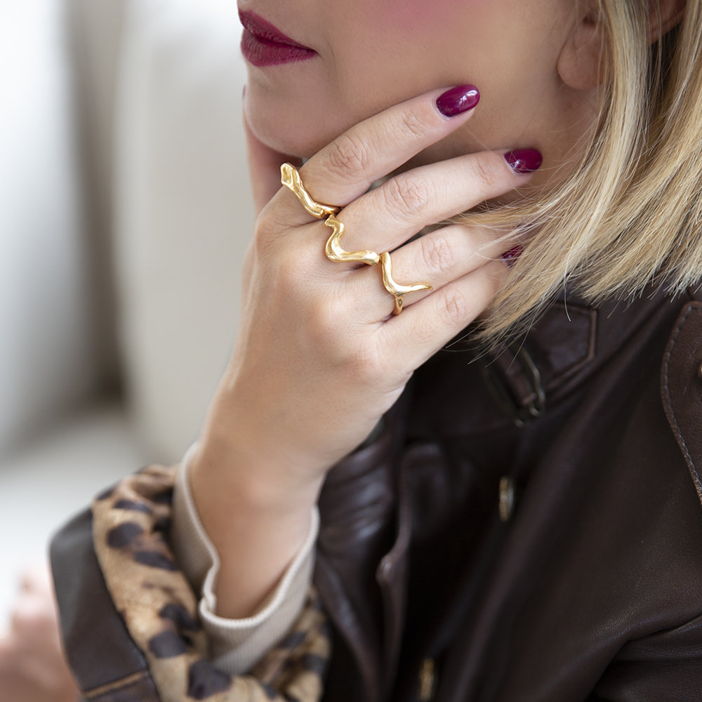 Anelli Twisted - Giulia Barela Jewelry