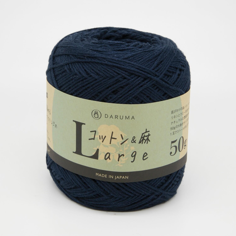 cotton & linen large синий (9)
