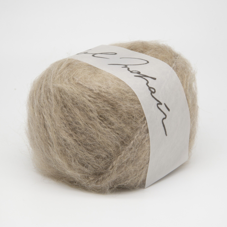 wool mohair бежевый 2