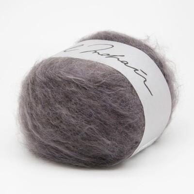 wool mohair серо-лиловый 5