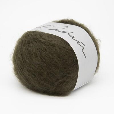 wool mohair зеленый 11