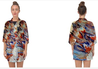Chiffon Kimono - Belted
