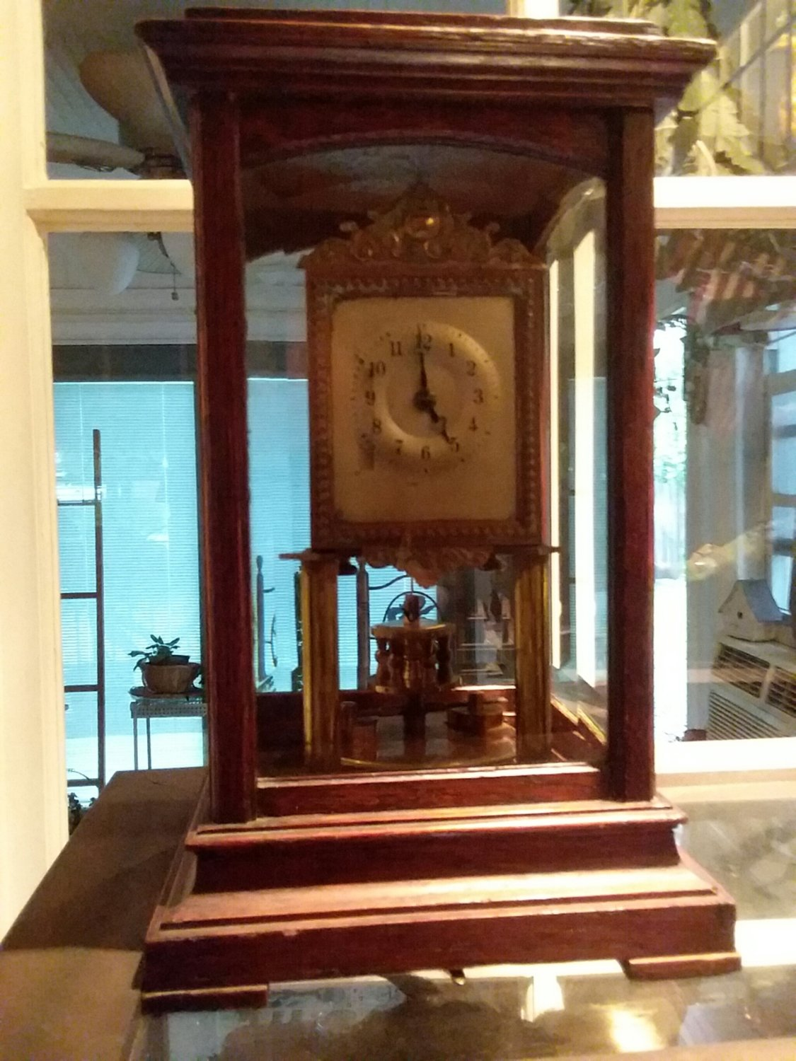 Gustof Becker Clock